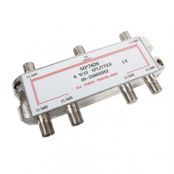 Repartidor TDT-SAT F 6D 11.5dB paso DC Engel