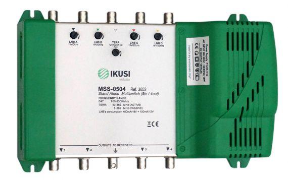 FI Multiswitch 5 Inputs x 4 Outputs MSS-0405 Ikusi 3652