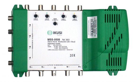 Multiswitch 5 inputs x 8 outputs Ikusi MSS-0508