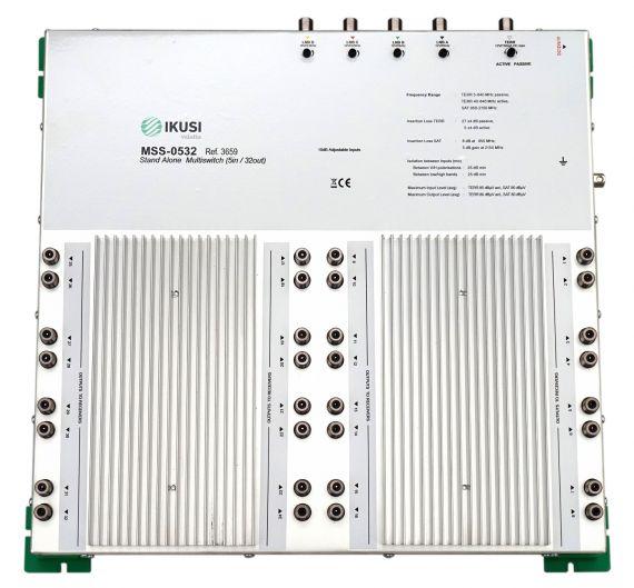 Multiswitch 5 inputs x 32 outputs MSS-0532 Ikusi 3659