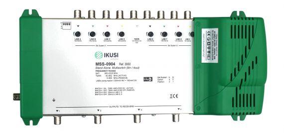 Multiswitch FI 9 Inputs x 4 Outputs MSS-0904 Ikusi 3660