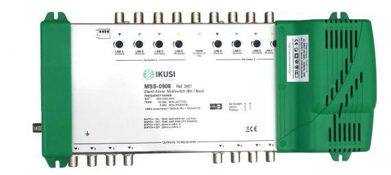 Multiswitch FI 9 Entradas x 8 Salidas MSS-0908 Ikusi 3661
