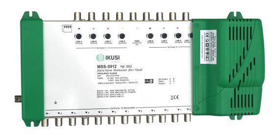 Multiswitch FI 9 Entradas x 12 Salidas MSS-0912 Ikusi 3662