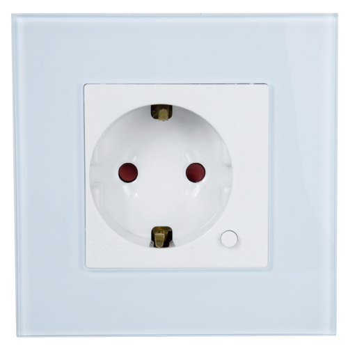 Nivian NVS-WALLSOCKETF-W Smart WiFi Wall Socket