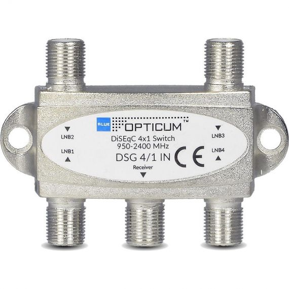 DiSEqC 4/1 Interior Opticum Switch