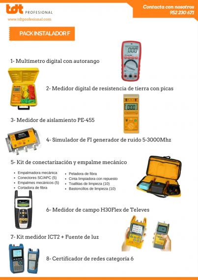kit instalador F