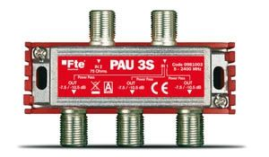 PAU Repartidor 3 salidas F 9dB FTE Maximal
