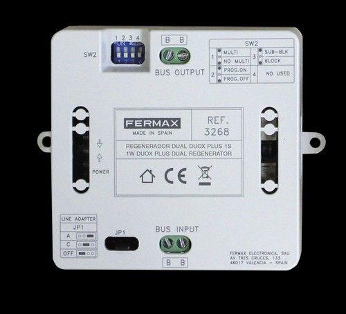 Regenerador Dual DUOX PLUS 1s Fermax 3268