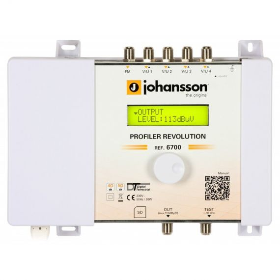 Central Procesadora Profiler Revolution 6700 de Johansson