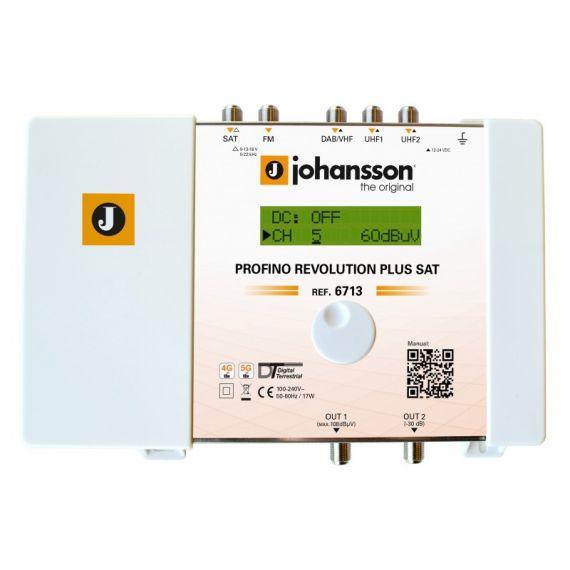 Profino Revolution SAT Johansson 6713 Programmable Amplifier