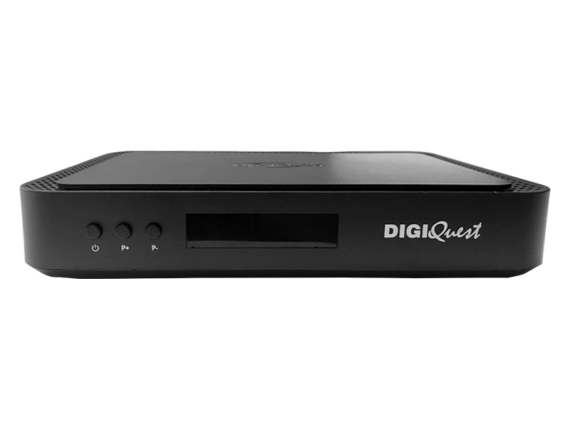 Tivùsat 4K Ultra HD Q60 DIGIQuest Combo Receiver