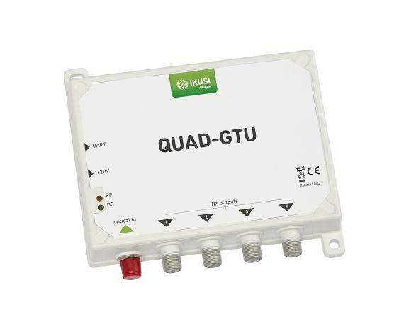 Optical Receiver 4 Polarities + DTT 4 Users QUAD-GTU Ikusi 4952
