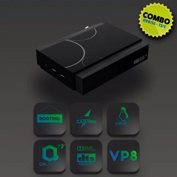 Receptor Combo IPTV OTT Qviart OG Co Full HD Linux CA