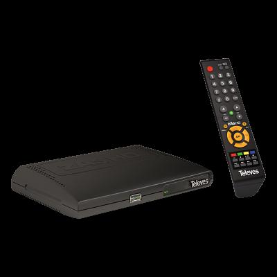 Receptor y mando de TDTSAT zAs HD 512801 Televes