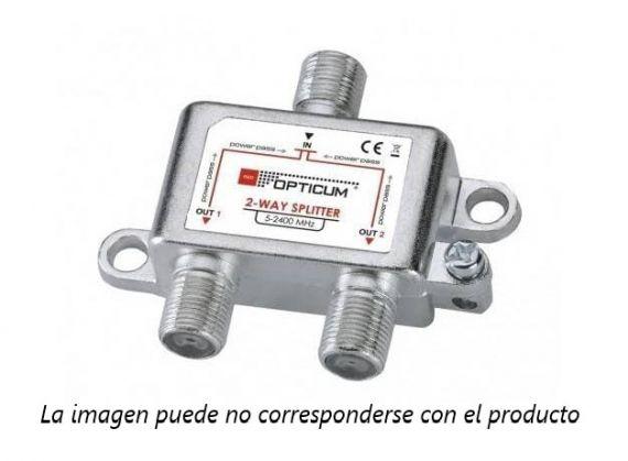 Repartidor 2 Salidas con conector F