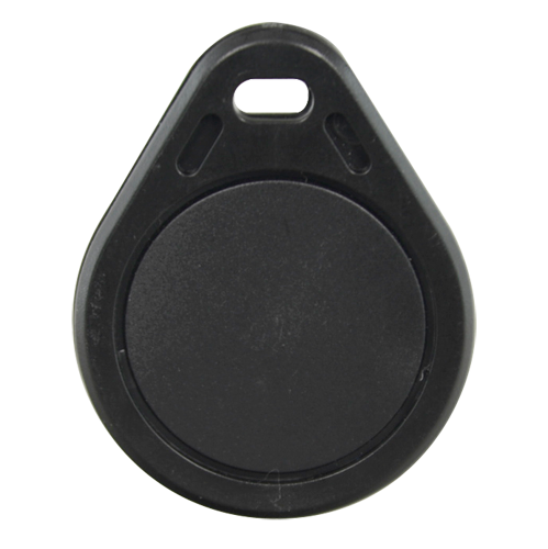 RFID / EM proximity keychain Color Black RFID-TAG-BLACK