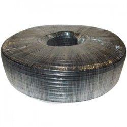 Coaxial Cable RG59 Indoor PVC Black (100m)