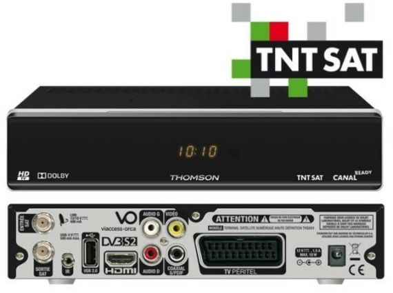 Satellite Receiver Thomson HD TNTSAT without smart card