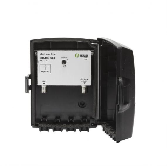 UHF Mast Amplifier 40dB LTE2 Ikusi 1228 SBA-100-C48
