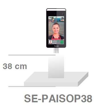 Soporte Escritorio PAI 38cm SE-PAISOP38 de Tecatel