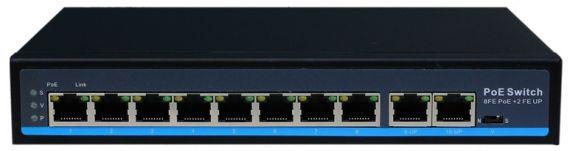 10-Port Switch SE-POESW10 from Tecatel