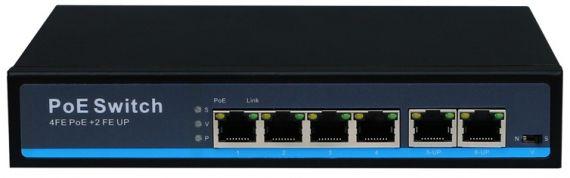 Switch with 6 ports SE-POESW6 of Tecatel