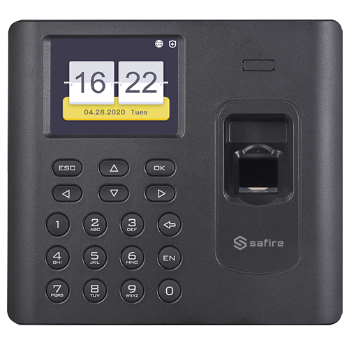 Safire WIFI presence control with Footprint, EM Cards and Keyboard