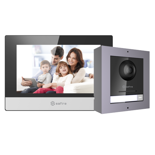 Kit Videoportero IP con Lector de Proximidad 1L SF-VIK001-S-IP