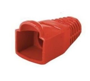 Cap for RJ45 connection in red