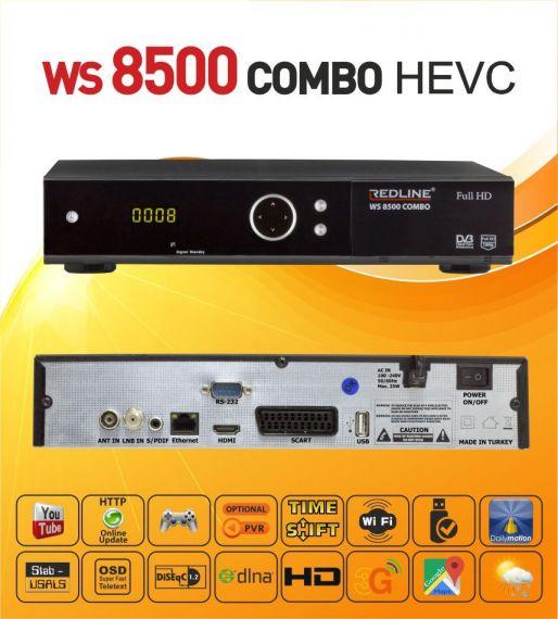 Receptor combo WS8500