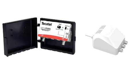 High gain kit with AMP-LTE404L amplifier for UHF