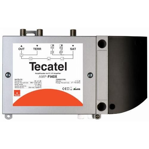 Central Amplifier FI Tecatel 40dB AMP-FI40X