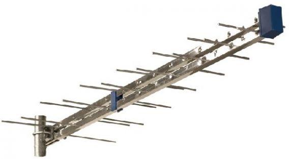 Antena Logarítmica de 28 elementos