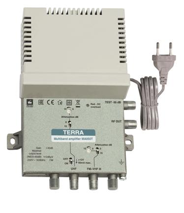 Terra MA050T Multiband Amplifier