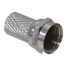 F connector for 5mm coaxial cable