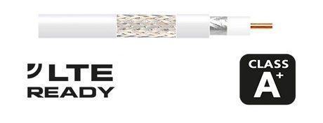 Cable coaxial 414801 Televes al corte