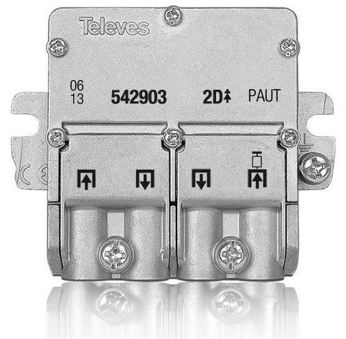 UAP splitter 2 Way EasyF Televes 542903