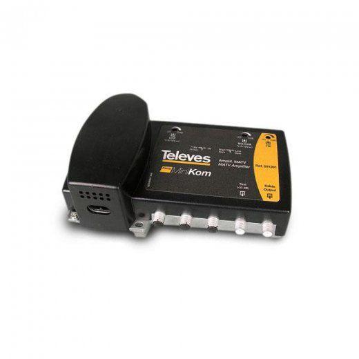 SAT Broadband Amplifier D+ 532401 de Televes