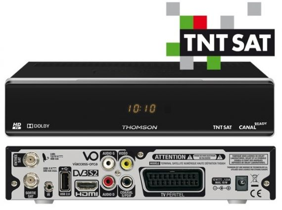 Receptor TNTSAT HD THOMSON