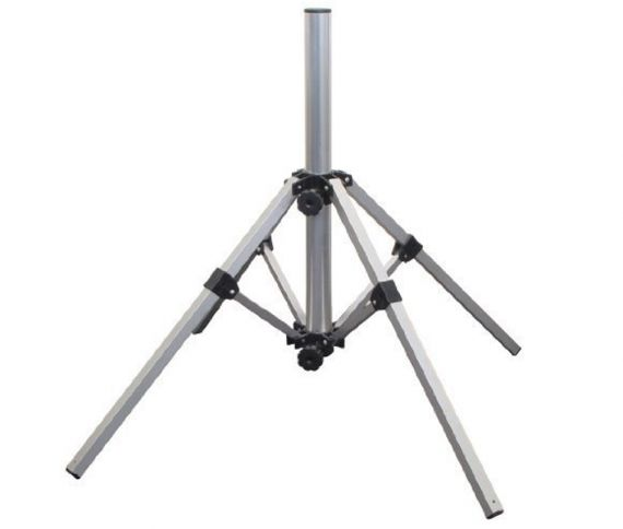Satellite Dish Tripod Support for Camping