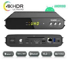 VIARK DRS 4K Android 7.0 Satellite Receiver