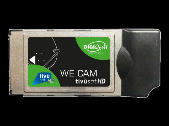 TIVUSAT HD WE CAM DIGIQUEST