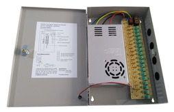 Fuente de alimentación centralizada para CCTV de Tecatel SE-FAC123018