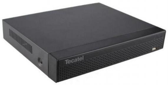 Grabador CCTV 4 canales Full HD Híbrido 5 en 1 de Tecatel