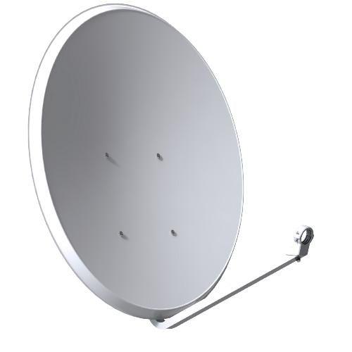 Satellite antenna Tecatel K80C1 80x71cm