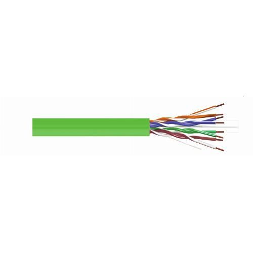 Cable UTP Cat 6 Cu Euroclass Dca LSZH Green CAB-UTP6LCUD
