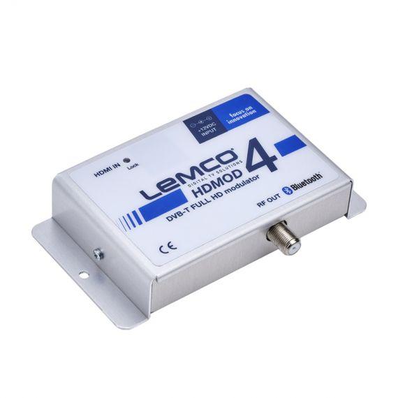 Lemco HDMOD 4 modulator with HDMI input and Bluetooth