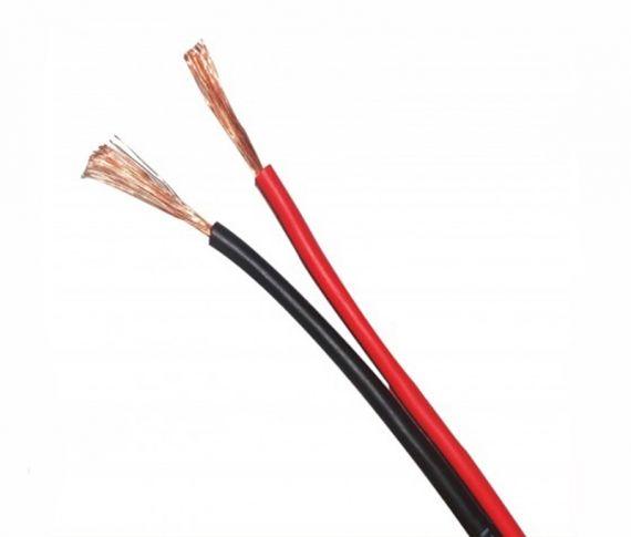 Cable Paralelo Bicolor 2x0.75mm Rojo y Negro