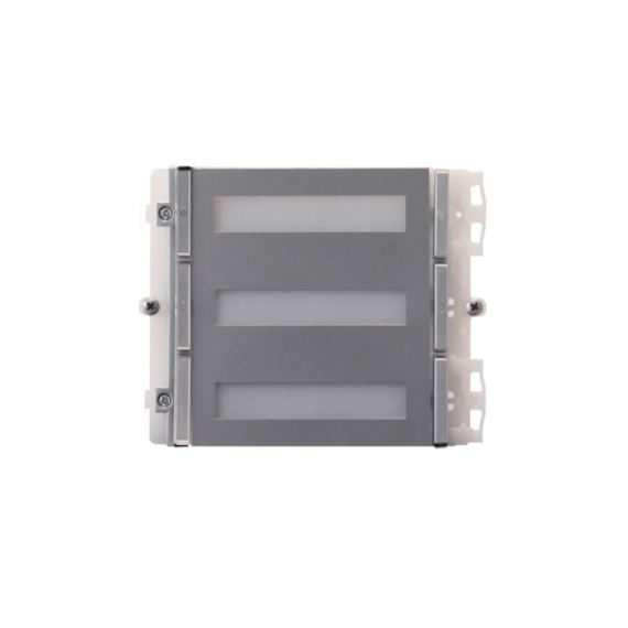 Módulo 4 Pulsadores IKALL Metal Simplebus Comelit 33434M