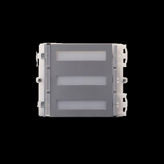 Módulo 6 Pulsadores IKALL Metal 2 Hilos Comelit 33436M